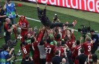 """Гравці """"Ліверпуля"""" з піснями і танцями в роздягальні відсвяткували перемогу в Лізі чемпіонів"""