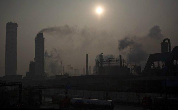 Химический заводы в Китае