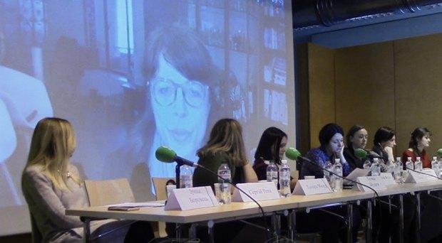 Голова цільової групи Європейського року культурної спадщини 2018 Катерина Магнант у прямому ефірі з Брюсселя