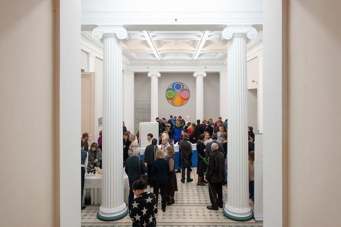 Выставка Флориана Юрьева в Национальном художественном музее