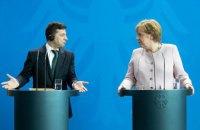 """Зеленський про Меркель: """"Я думаю, що вона опинилася у важкій ситуації"""""""