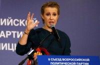 Жириновський облаяв Собчак матом під час теледебатів