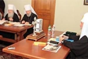 Синод РПЦ решал вопрос выхода из финансового кризиса
