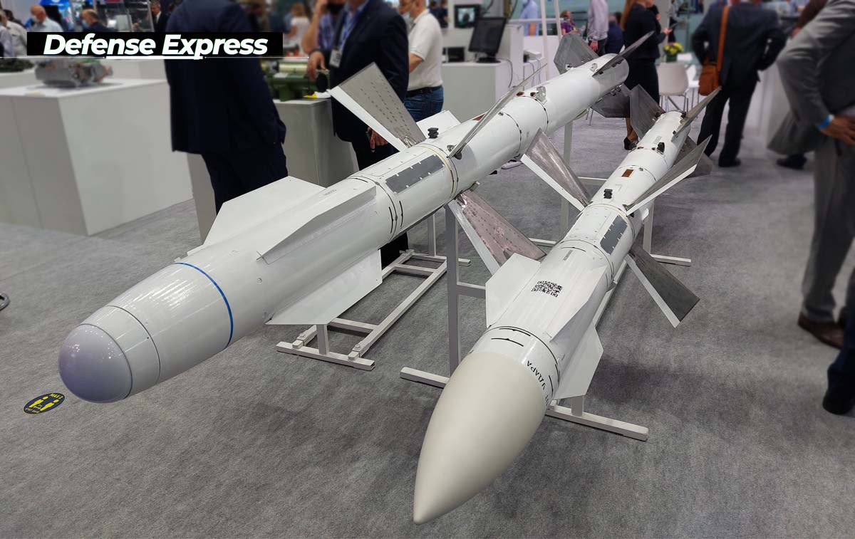 Авіаційні ракети середньої дальності Р-27 з напівактивною та тепловою ГСН від ДАКХ 'Артем' на 'Зброя та Безпека-2021'