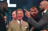 Назначена официальная дата матч-реванша супертяжеловесов Фьюри и Уайлдера