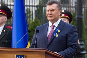 Судьба континента зависит от Украины, - Янукович