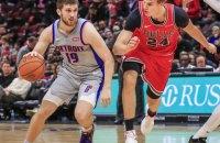 Українець Михайлюк провів свій найрезультативніший матч сезону в НБА