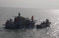 Четырех рыбаков, задержанных Россией в Азовском море, привлекли к админответственности