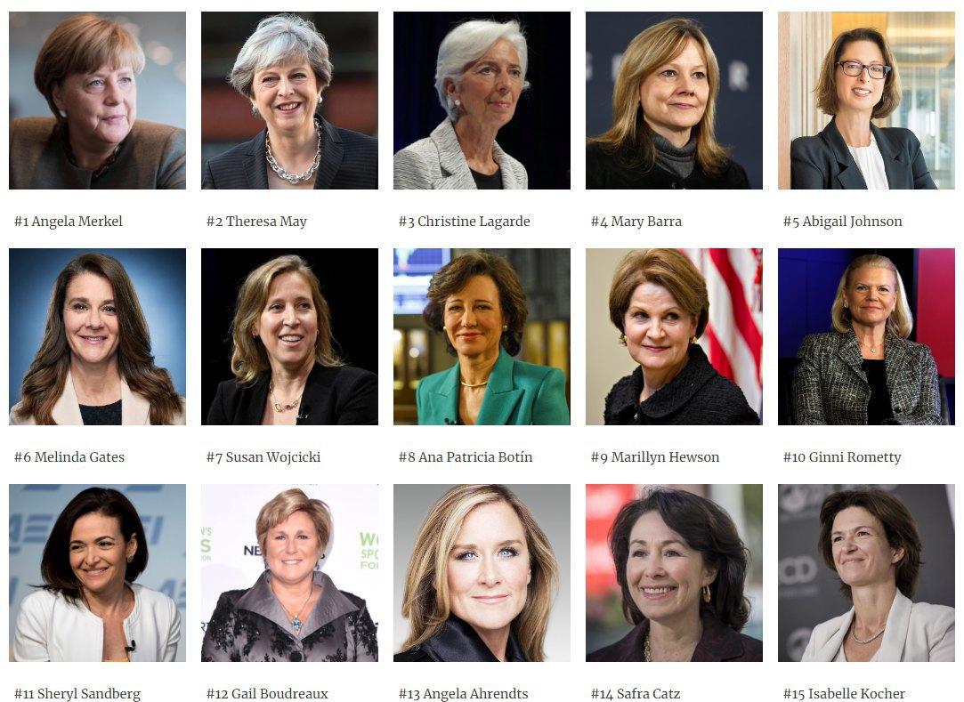 Меркель 8-ой раз подряд возглавила список самых влиятельных женщин Forbes