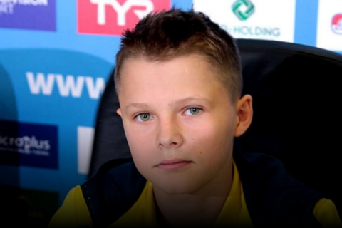 Украинец стал самым младшим чемпионом Европы в истории прыжков в воду