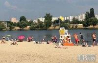 """КП """"Плесо"""" не рекомендует купаться в водоемах Киева в течение двух дней после дождя"""