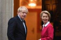 Brexit: британский премьер и председатель Еврокомиссии сегодня возобновят  переговоры