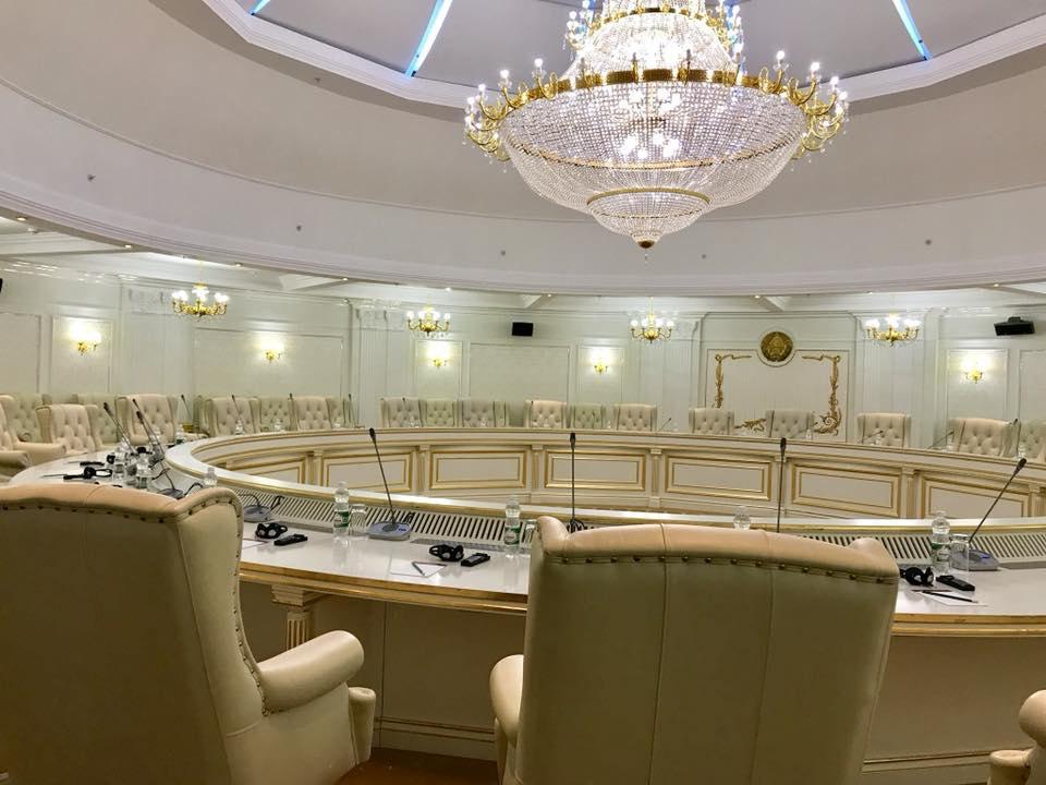 Зал переговоров ТКГ в Минске