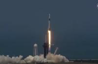 SpaceX со второй попытки отправила астронавтов в космос на Сrew Dragon (прямая трансляция)