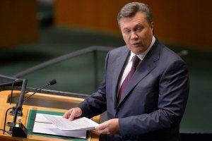 Янукович похвастался перед президентом ПАСЕ новым УПК