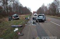 В ДТП под Черниговом погибли три человека, еще трое в больнице