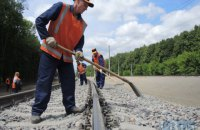 Прокуратура сообщила о подозрении в завладении 9 млн грн при строительстве железнодорожного сообщения Киев-Борисполь