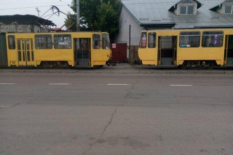 Водії трамваїв у Львові ночували у вагонах