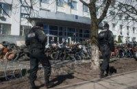 Міліція стверджує, що не залишала територію Донецької ОДА