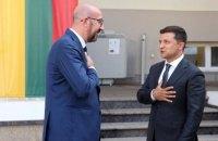 Голова Євроради наголосив Зеленському на важливості реформ в Україні