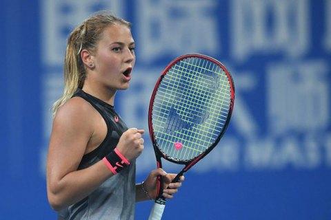 15-річна українка була близькою до сенсації на тенісному турнірі у Штутгарті