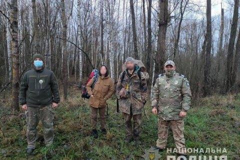 За пять дней нового года в Чернобыльской зоне поймали 14 туристов-нелегалов