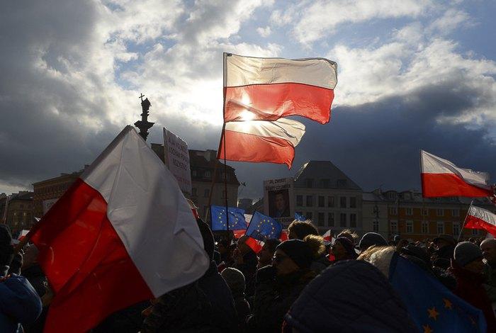 Празднование Дня независимости Польши, Варшава, 11 ноября 2017.