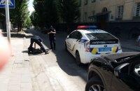Патрульний автомобіль збив перехожого у Львові