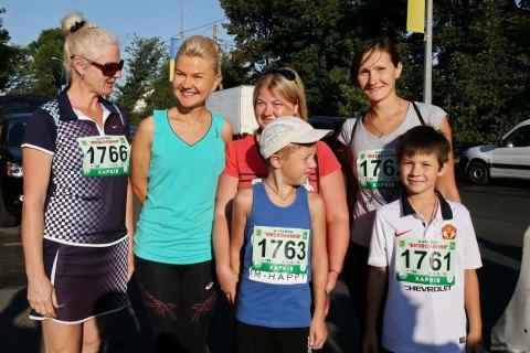 Губернатор Харківської області взяла участь у марафоні до Дня Незалежності