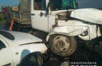 16 осіб постраждало в ДТП за участю п'яти автомобілів на об'їзній Золочева