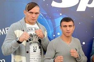 Ломаченко перетащил своего кума Усика в профессионалы
