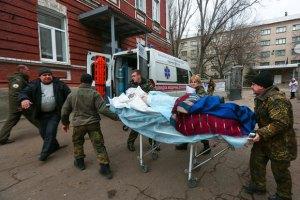 За останню добу в зоні АТО поранено одного військового