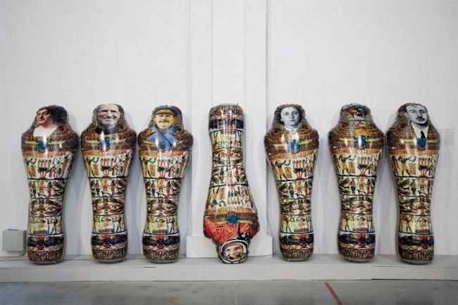 Лучезар Бояджиєв, Без назви. Проект з муміями