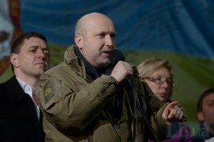 Турчинов закликав Путіна вивести війська з Криму