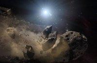 Японці скинули вибухівку на астероїд для створення кратера