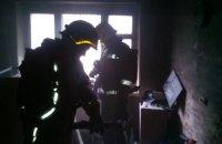 В Харькове произошел пожар в общежитии колледжа