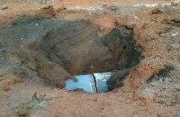 Причиной прорыва газопровода возле Хуста назвали проседание грунта
