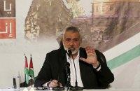 Лідер ХАМАС закликав палестинців до нової інтифади