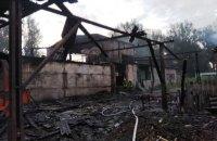 В Житомирской области сгорел цех по производству топливных пеллет
