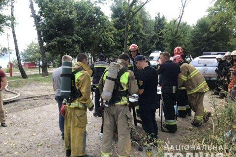 Поліція відкрила кримінальне провадження через пожежу на хімпідприємстві біля Львова
