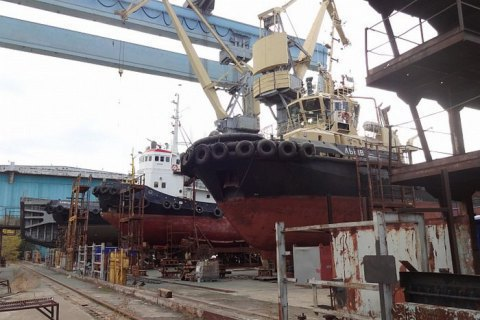 Чорноморський суднобудівний завод визнано банкрутом
