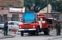 Поликлиника в Одессе горела из-за обрыва проводов