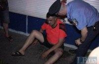 Пьяный милиционер устроил масштабное ДТП в Киеве