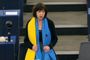Євродепутата Ребекку Гармс не пустили в Росію