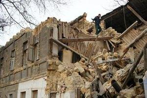 В Одесі обвалилася частина будинку