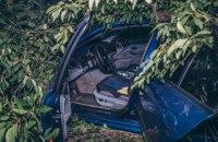 В Киеве во время погони египтянин разбил три машины и врезался в дерево