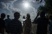 На Земле началось последнее в этом году солнечное затмение