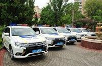 Поліція Хмельницького отримала нові кросовери Мitsubishi