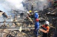 Кількість жертв вибуху на АЗС збільшилася до 6 осіб