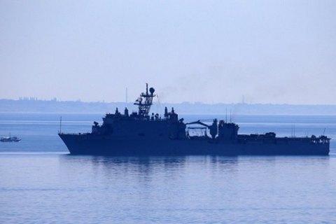 В Одеському порту пришвартувався американський десантний корабель
